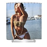 Without A Care Shower Curtain