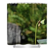 Without Protection Number Three Shower Curtain