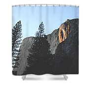 Without The Fall Shower Curtain