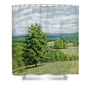 Without You Shower Curtain