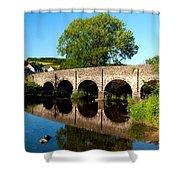 Withypool Bridge Shower Curtain