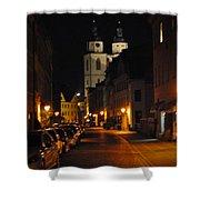 Wittenberg Night Shower Curtain