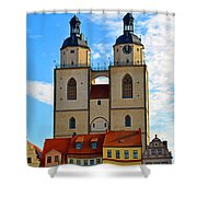 Wittenberg Sky Shower Curtain