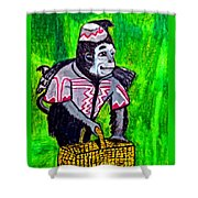Wizard Of Oz Flying Monkey Shower Curtain