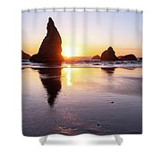 Wizard Reflections Shower Curtain