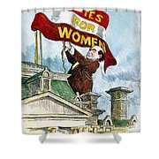 W.j. Bryan Cartoon, C1915 Shower Curtain