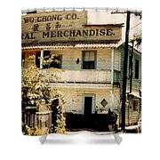 Wo Chong General Store Courtland Ca Shower Curtain