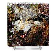 Wolf Art Version 8 Shower Curtain
