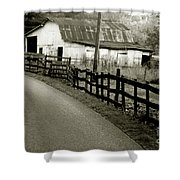 Wolf Creek Road Shower Curtain