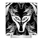 Wolf Pack Shower Curtain
