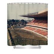 Wolverhampton - Molineux - Molineux Street John Ireland Stand 3 - 1979 Shower Curtain