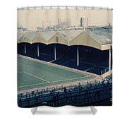 Wolverhampton - Molineux - Molineux Street Stand 2 - Leitch - 1970s Shower Curtain