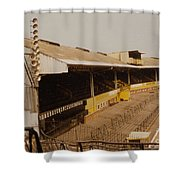 Wolverhampton - Molineux - Waterloo Road Stand 2 - Leitch - 1970s Shower Curtain