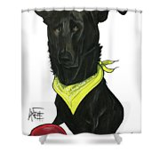 Womack 3291 Charlie Shower Curtain