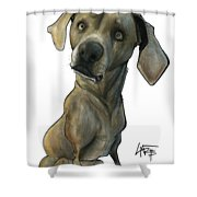 Womack 3291 Cooper Shower Curtain