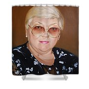 Woman 1 Shower Curtain