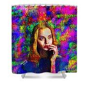 Woman 378 Shower Curtain