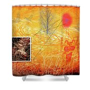Woman And Life Shower Curtain