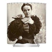 Woman, C1885 Shower Curtain