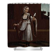 Woman From The Island Of Patmos Shower Curtain