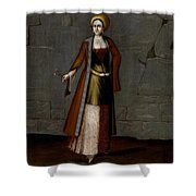 Woman From Tinos Shower Curtain