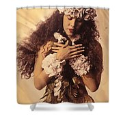 Woman In Pose Shower Curtain