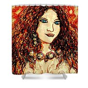 Woman Of Desire Shower Curtain