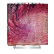 Woman Of Fire Shower Curtain