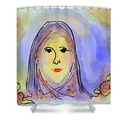 Woman Of Grace Shower Curtain