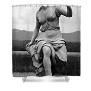 Woman Sculpture Nc Shower Curtain