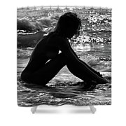 Woman  Shower Curtain