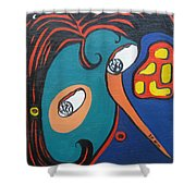 Woman12 Shower Curtain