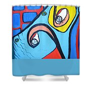 Woman13 Shower Curtain
