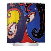Woman30 Shower Curtain