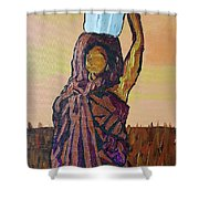 Woman's Worth - 1 Shower Curtain
