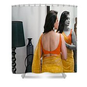 Women Grooming Obsession Esthticienne  Beautician Esthticien Fashion Couture  Shower Curtain