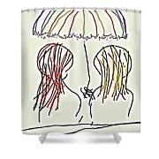 Women Hoping For Rain 2 Shower Curtain