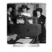 Women Voting, C1917 Shower Curtain