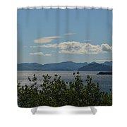 Women's Bay Shower Curtain