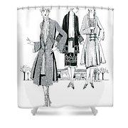 Womens Fashion, 1926 Shower Curtain