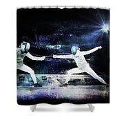 Women's Foil Shower Curtain