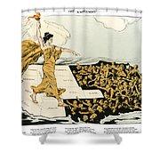Womens Suffrage, 1915 Shower Curtain