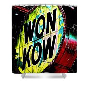 Won Kow, Wow 3 Shower Curtain