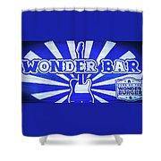 Wonder Bar - Sign Shower Curtain