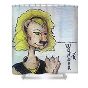 Wonder Jr Shower Curtain
