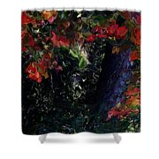 Wonder Tree Detail 2 Shower Curtain