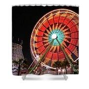 Wonder Wheel Shower Curtain