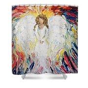 Wonderful Angel Shower Curtain