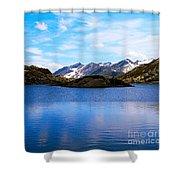 Wonderful Lake San Bernardino In Switzerland. Shower Curtain