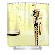 Wonderful Paint Job Shower Curtain